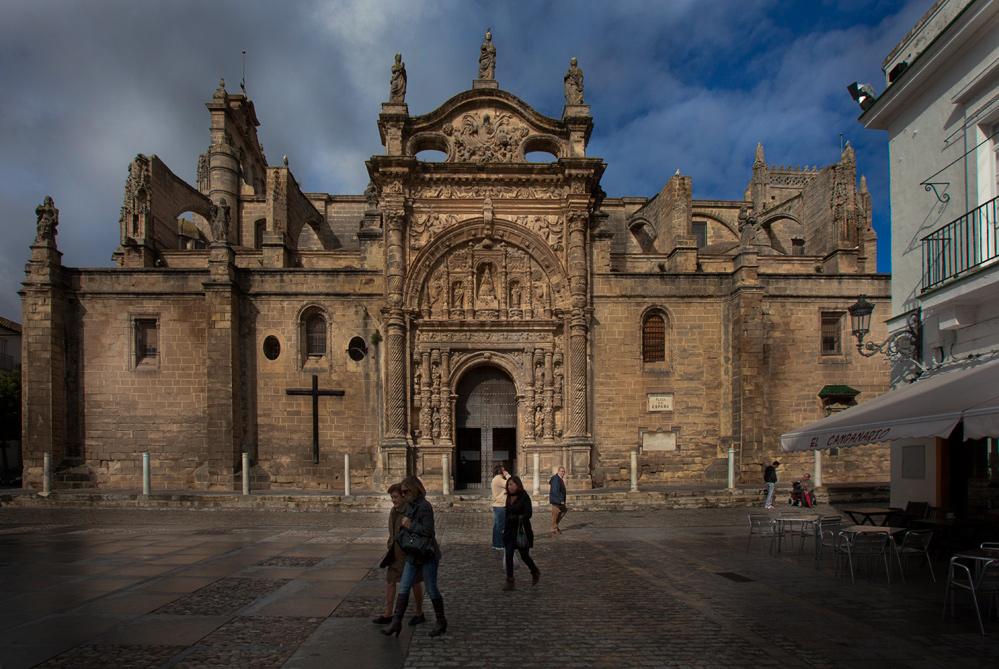 Eine interessante Kirche in Andalusien