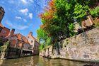 Eine Kanaltour in Brügge