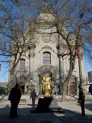 Eine katholische Kathedrale ...