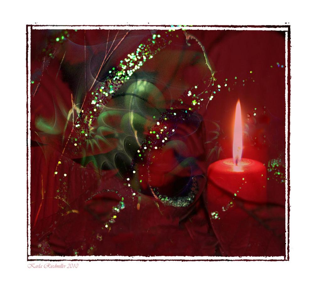 ... eine Kerze ....