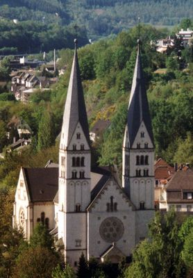 Eine Kirche in Siegen