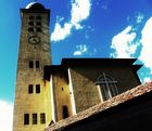 eine Kirche in Süd Tirol