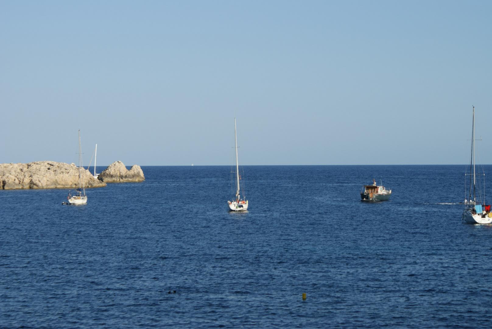 Eine kleine Bucht auf Mallorca