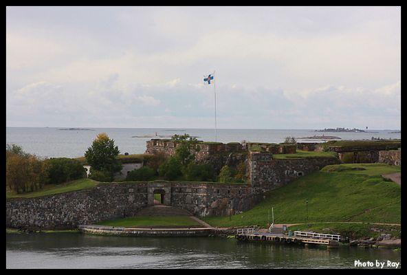 Eine kleine Insel kurz vor Helsinki