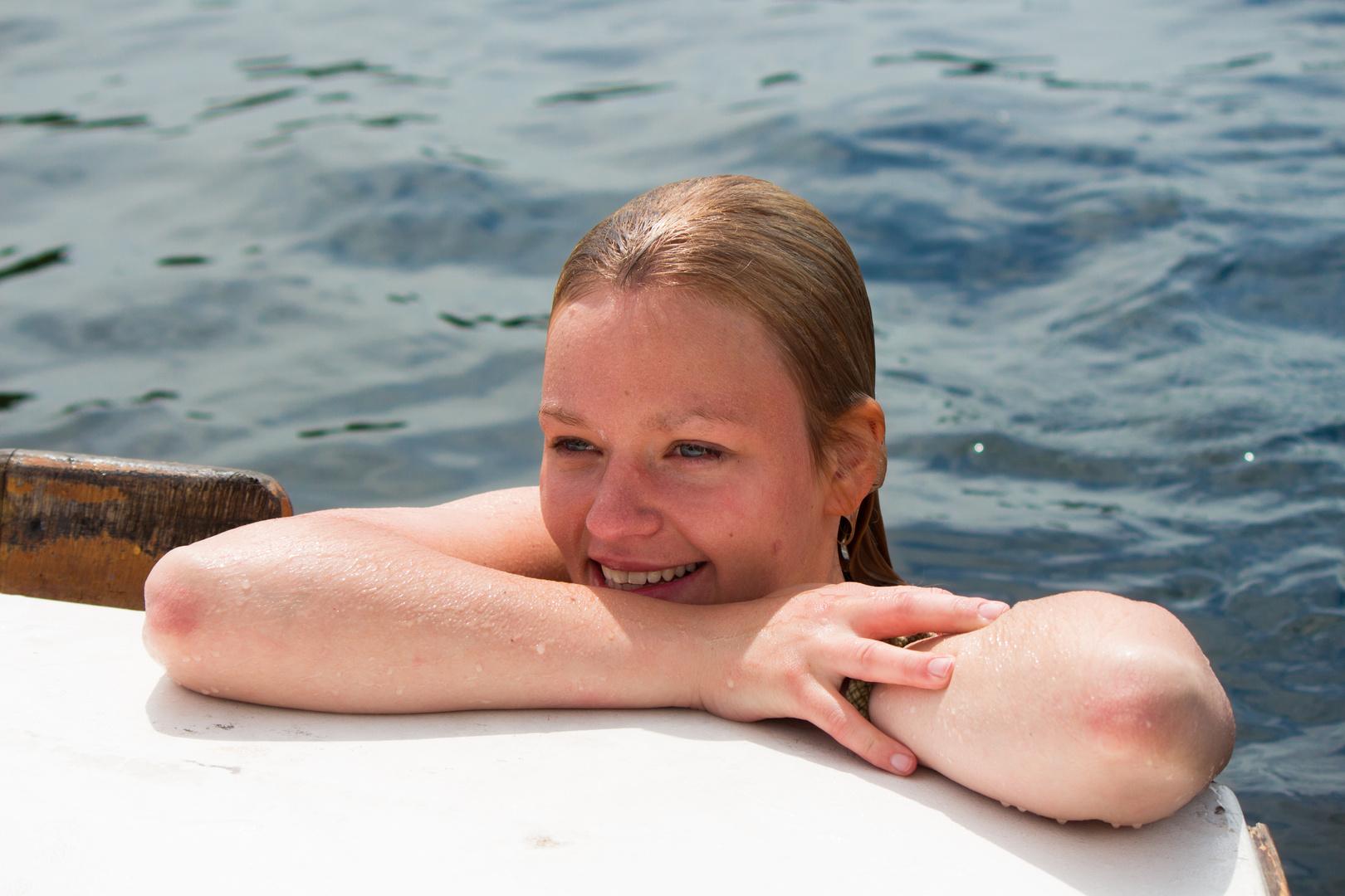 Eine kleine Meerjungfrau :-)