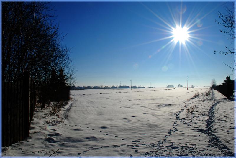 Eine kleine Winterimpression II
