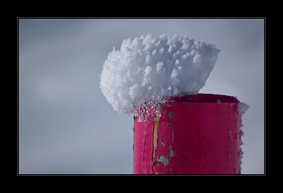 Eine Ladung Schnee