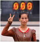 Eine moderne Vietnamesin
