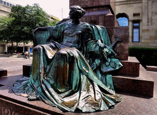 Eine Muse in Wuppertal
