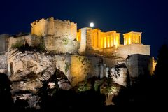 Eine Nacht in Athen