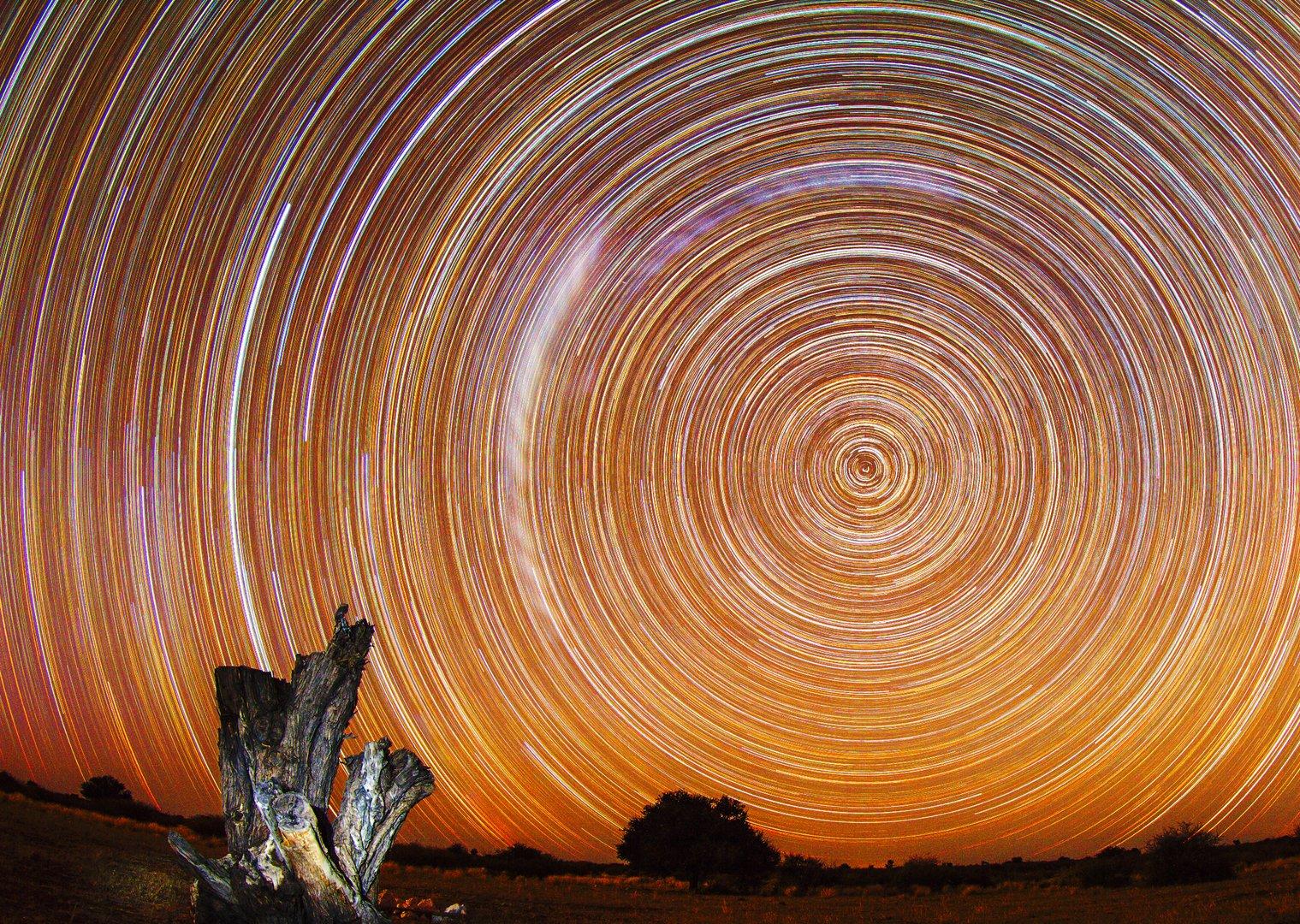 Eine Nacht in der Wüste