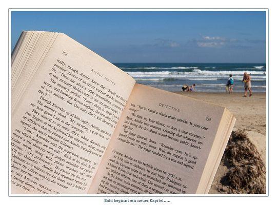 Eine neue Seite im Buch......