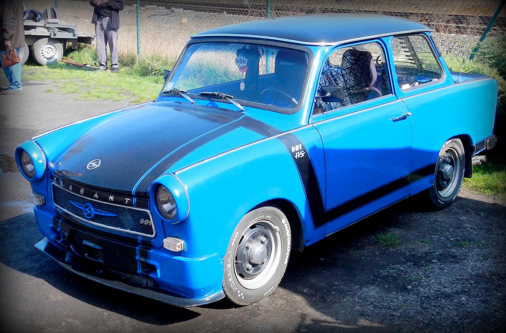 ~ eine pape in blau :-) ~