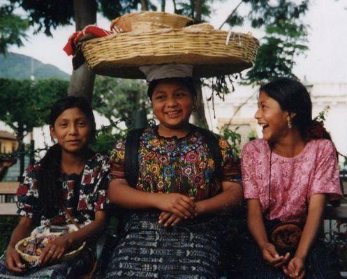 eine Plaza in Guatemala
