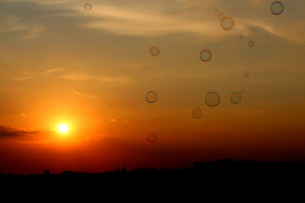 Eine reine Seele ist wie eine Seifenblase. Wunderschön, doch so zerbrechlich.