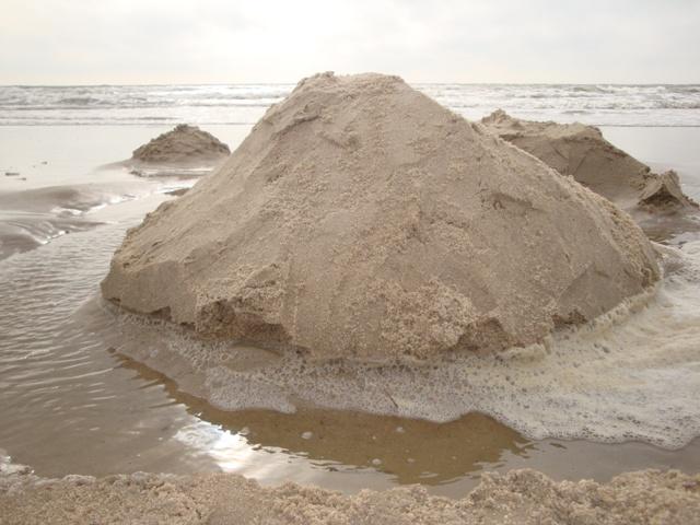 eine rieeesen sandburg