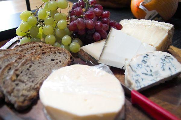 Eine Runde Käse