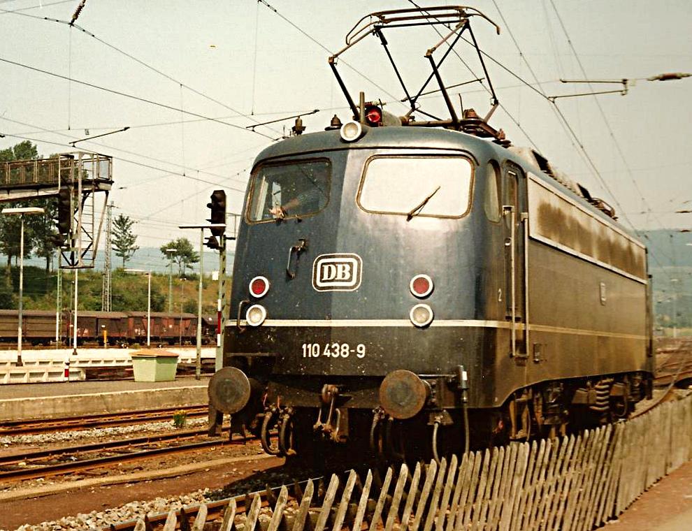 Eine schöne Lokomotive