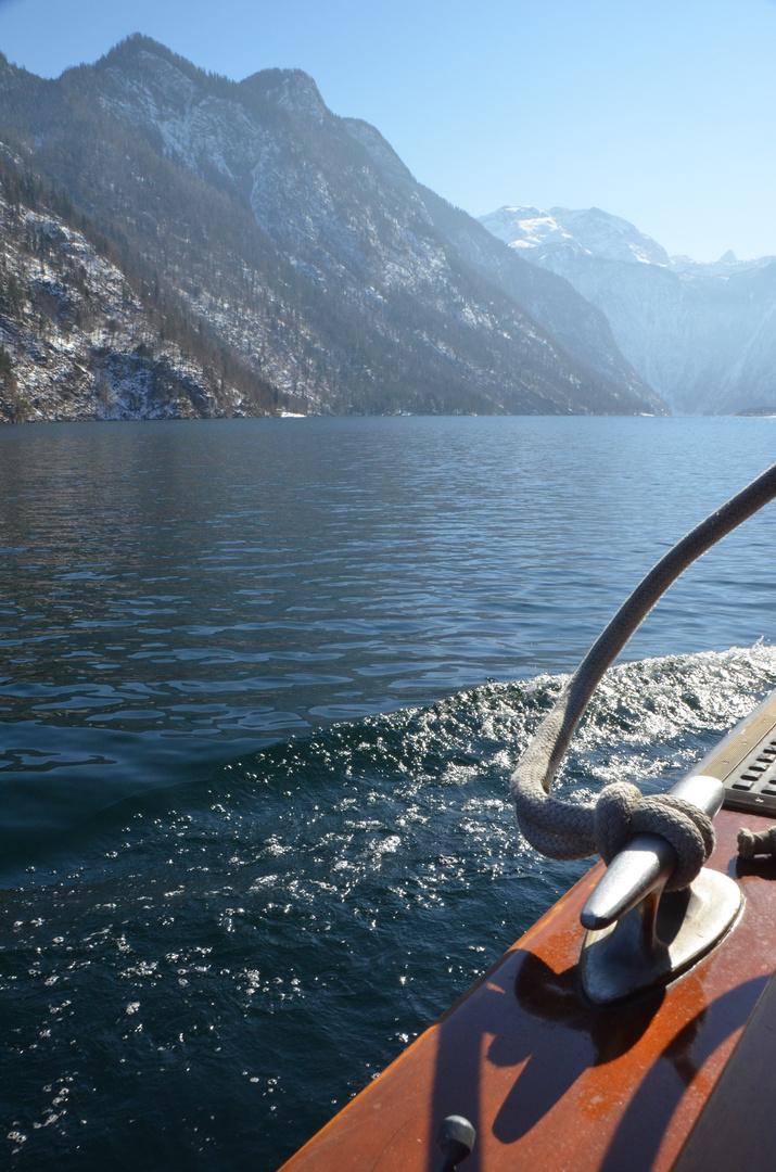 Eine Seefahrt, die ist lustig :)