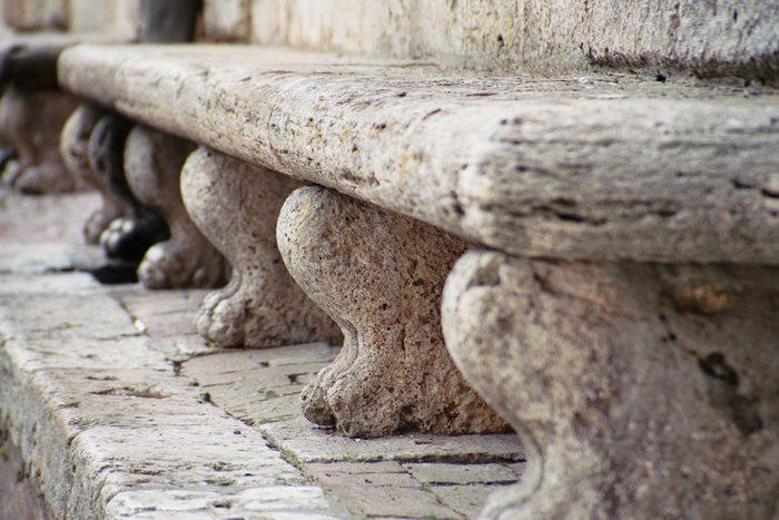eine Sitzgelegenheit für die Ewigkeit