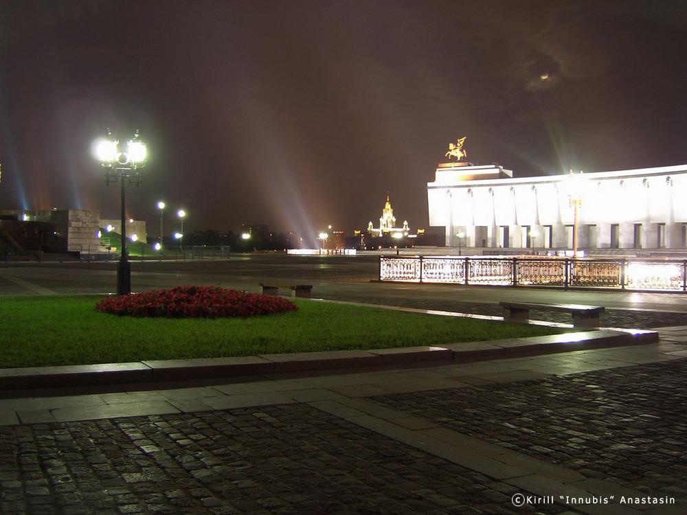 Eine Sommernacht in Moskau