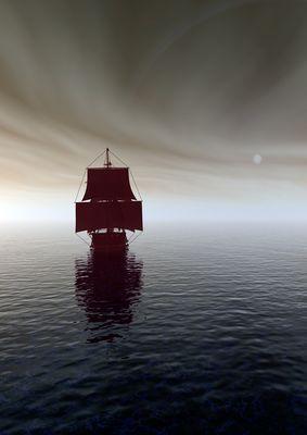 """Eine stimmungsvolle Begegnung auf dem  """"noch"""" ruhigen Meer ..."""