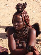 Eine stolze Himbafrau