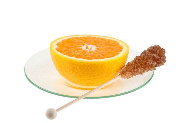 Eine Tasse Orange