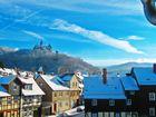 eine traumhafte Winterstimmung von Wernigerode / Harz