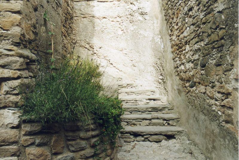 Eine Treppe ins Nichts