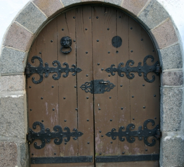 Eine tür  Eine Tür vom Schloß Glücksburg Foto & Bild | architektur ...