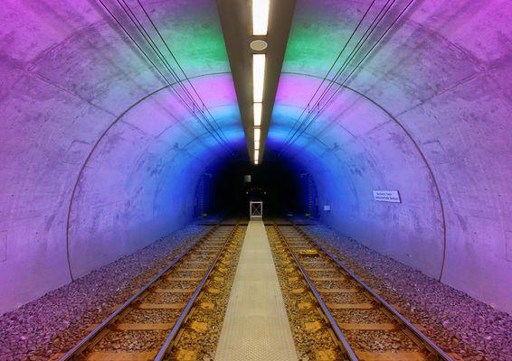 Eine U-Bahn Station irgendwo im Ruhrgebiet