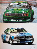 eine ultimative, wahre Königin - BMW 635 CSi, Gr.2 und Gr. A ...