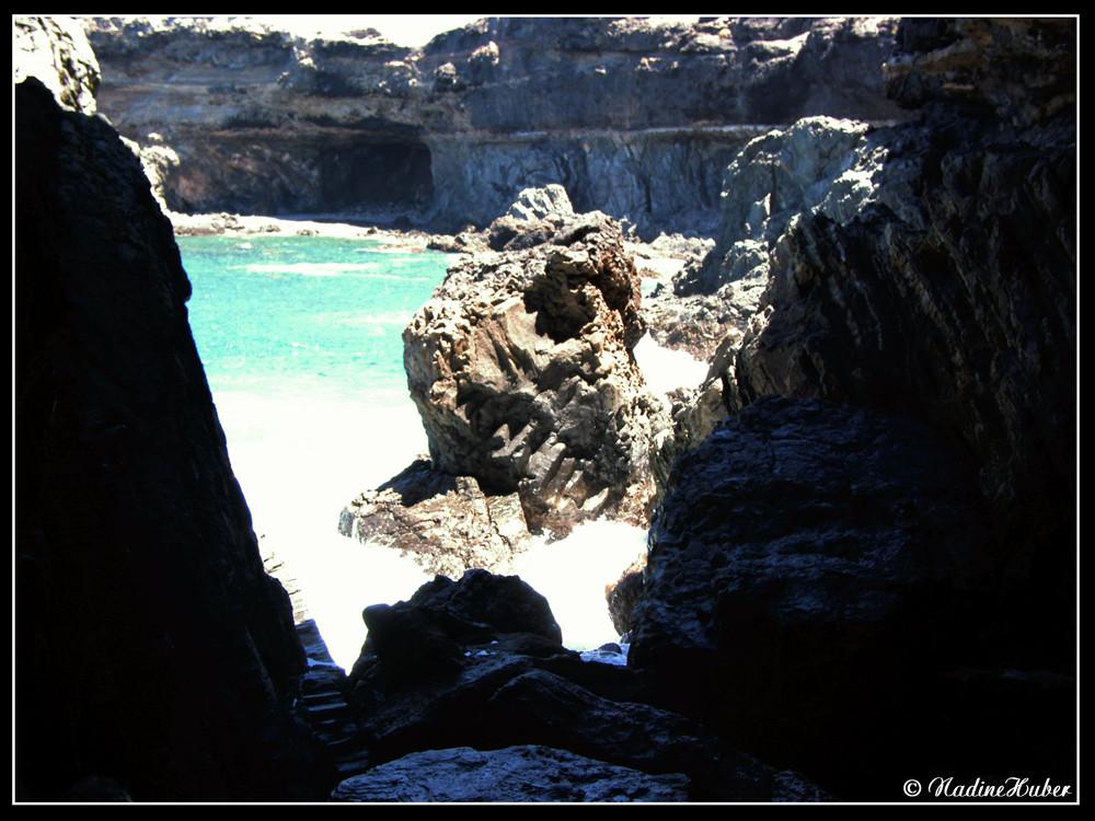 Eine verlassene Bucht