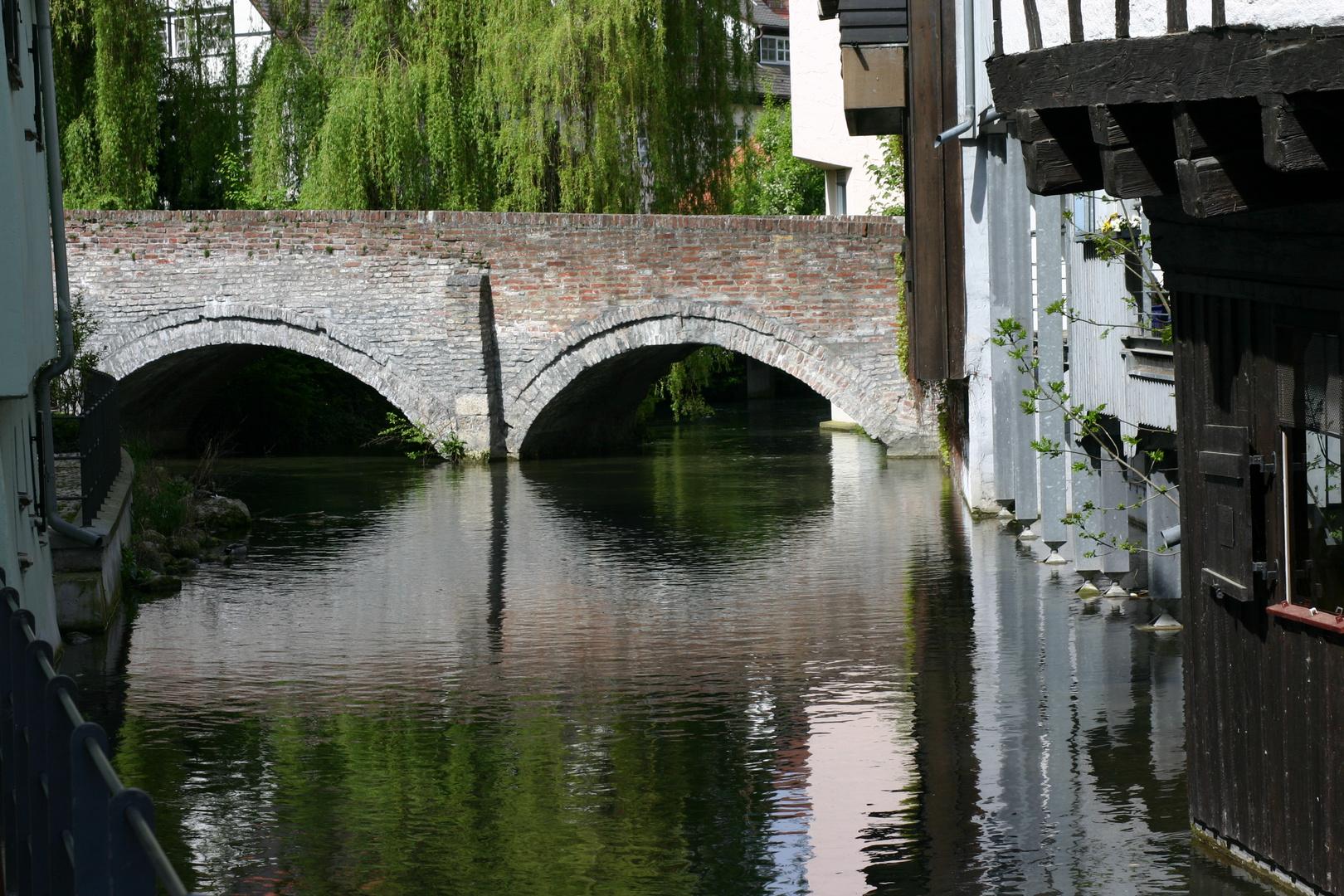 Eine von vielen Brücken in Ulm