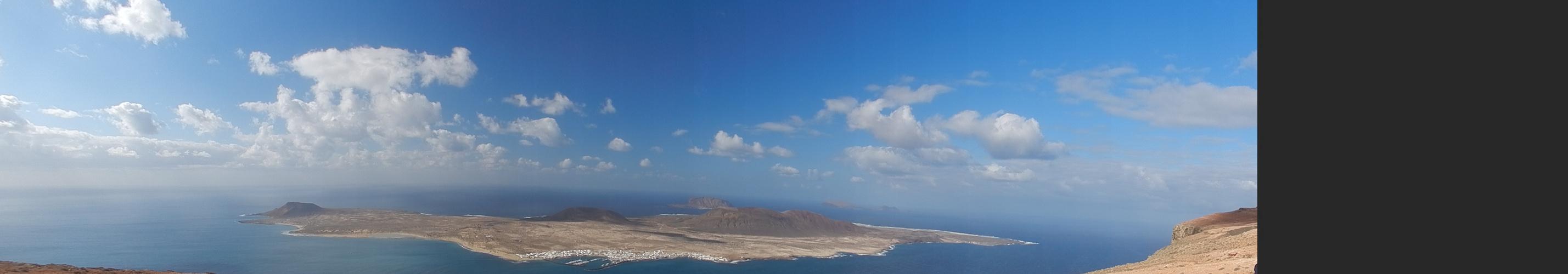 Eine vorgelagerte Insel im Nordwesten von Lanzarote La Graciosa