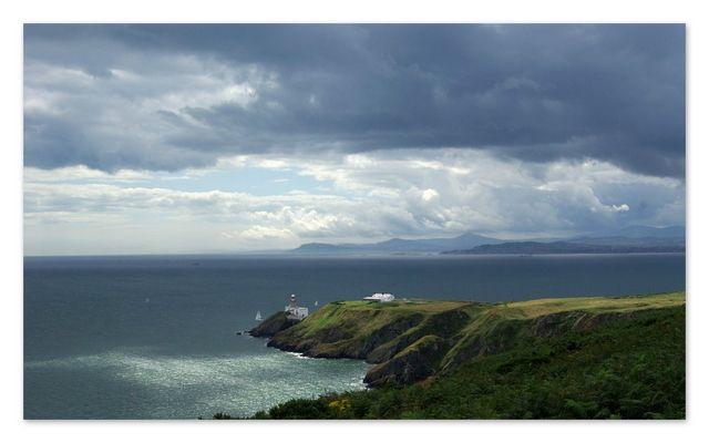 eine Wanderung an der Küste von Dublin