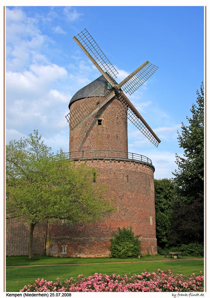 Eine Windmühle....