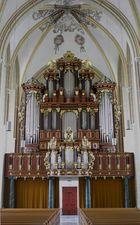 Eine wunderschöne Orgel...