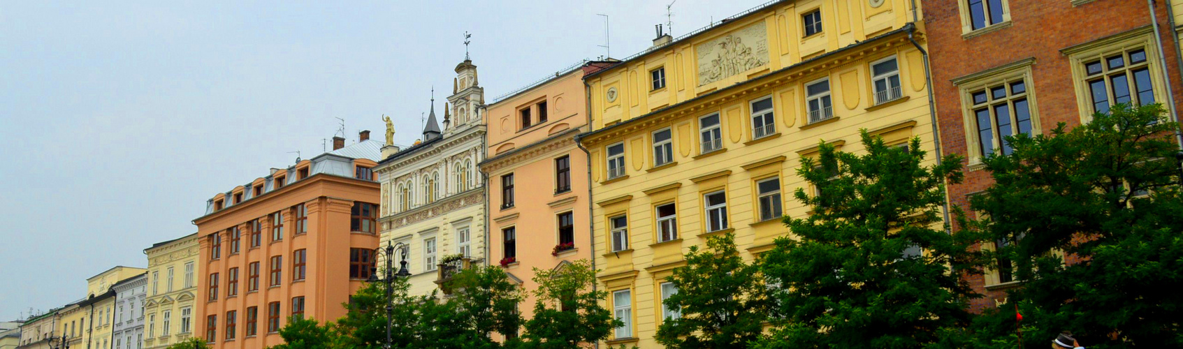 Eine wundervolle Stadt mit vielen Farben durchzogen...