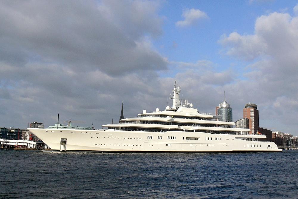 Eine Yacht namens »Eclipse«