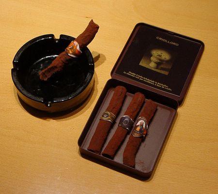 Eine Zigarre zum Anbeißen
