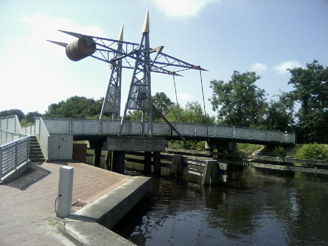 Eine Zugbrücke