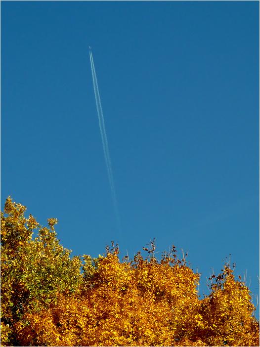 Einen blauen Himmel