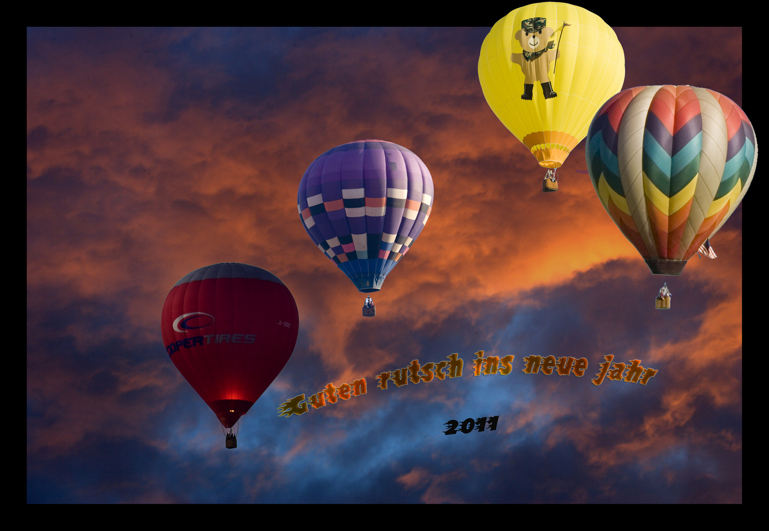 Einen Guten rutsch ins neue jahr 2011
