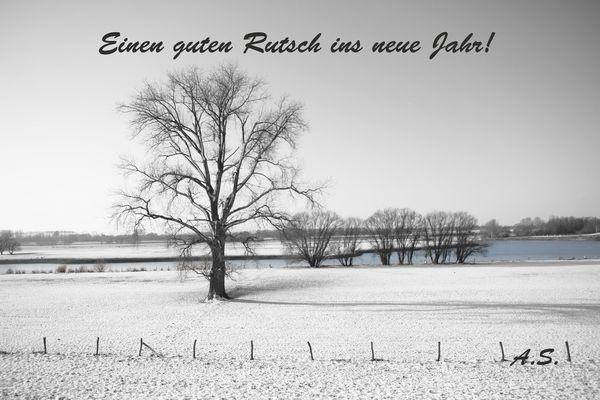 Einen guten Rutsch ins neue Jahr und alles Gute!