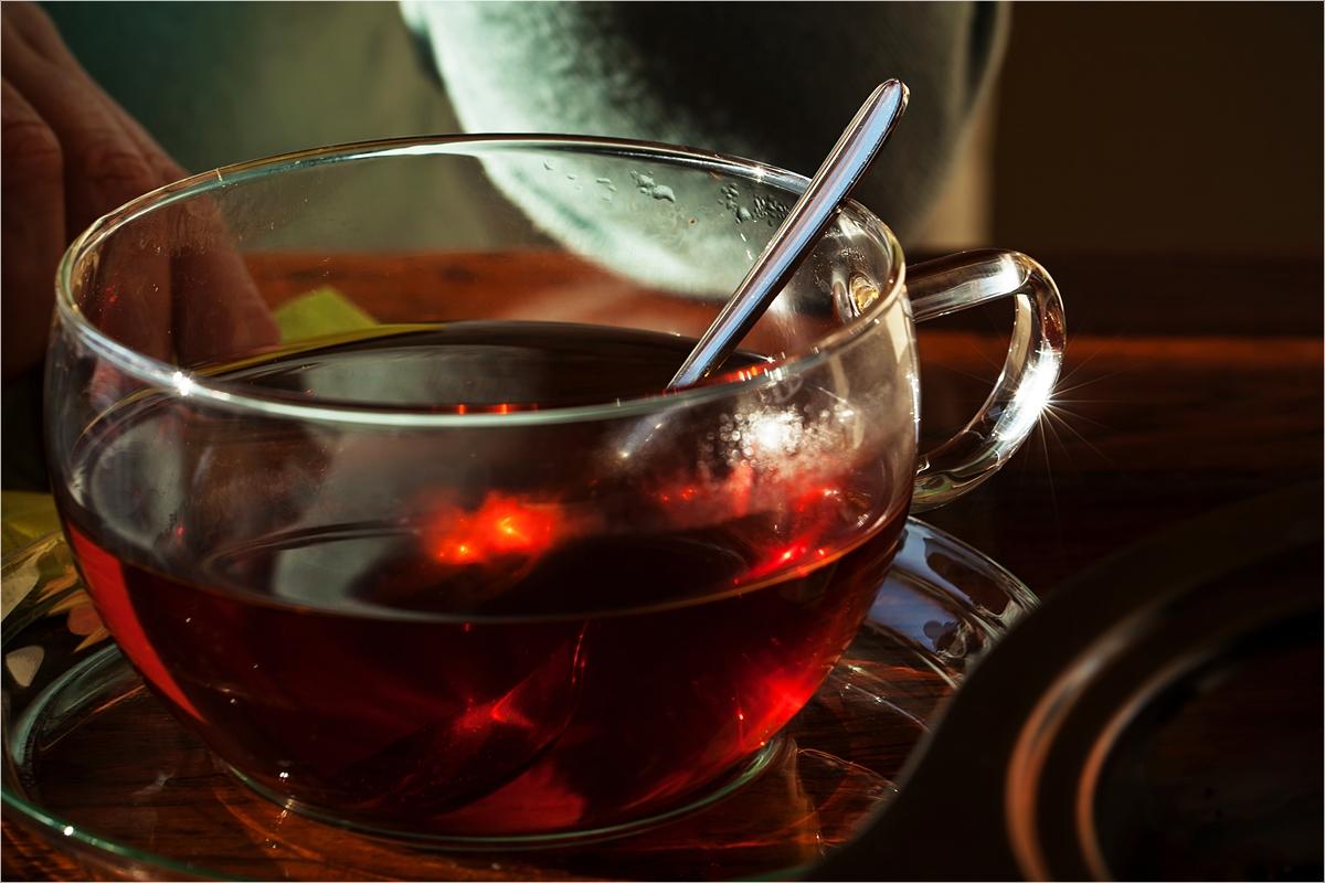 Einen im Tee haben ... oder Gemütlichkeit