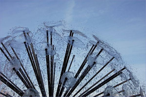 einen Strauss Wasser ...