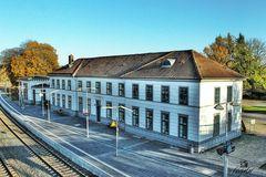 """""""Einer der ältesten Bahnhöfe in Deutschland""""..."""