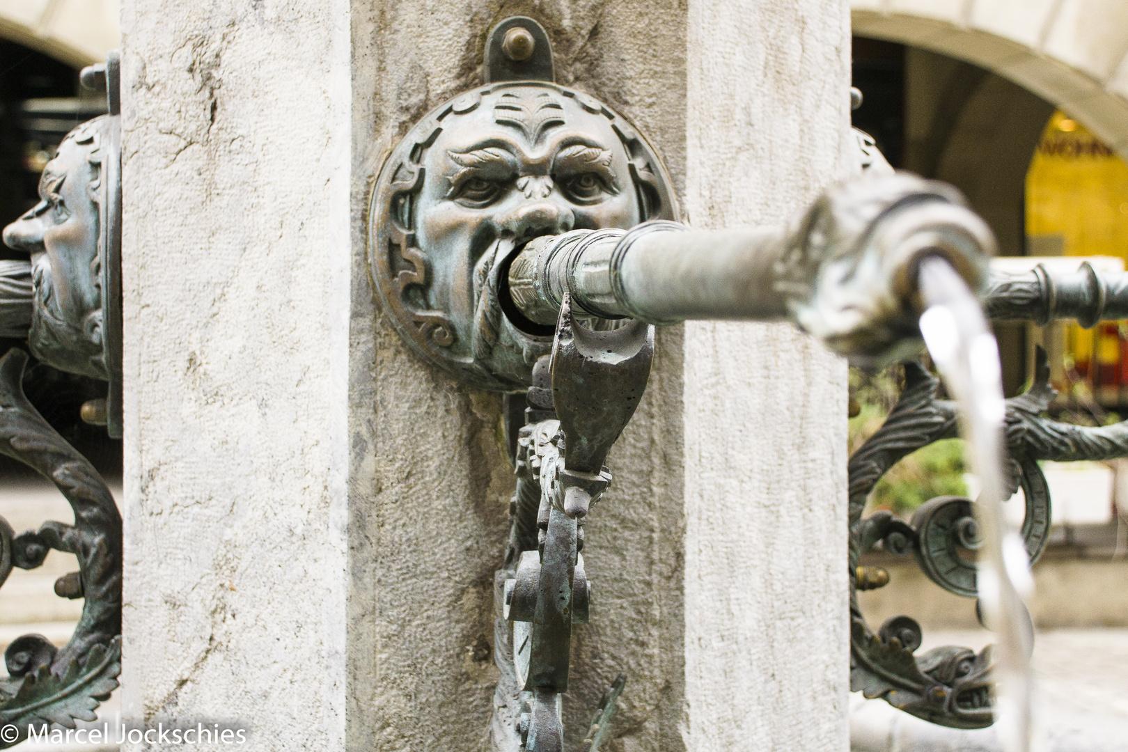 Einer der Brunnen aus Bern